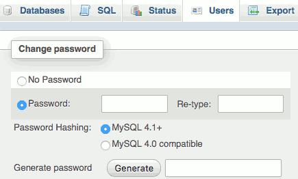 Change Default Password for MySQL/MariaDB and phpMyAdmin on NAS