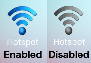 HotSpot Toggle Status