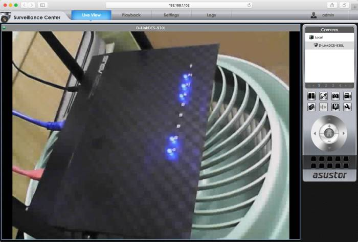 "Asus RT-AC1200G+ Cooled by a Vornado-like 10"" Fan at the bottom.jpg"