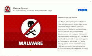 Malware Remover in App Center on QTS