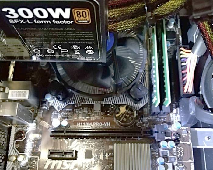 A Micro-ATX in Jonsbo C2